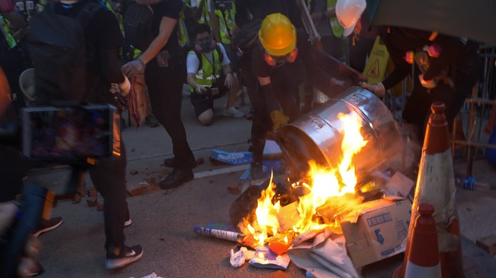 Where the Hong Kong Protests Stand After 100 Days: Rubber Bullets, Petrol Bombs, and 5 Demands