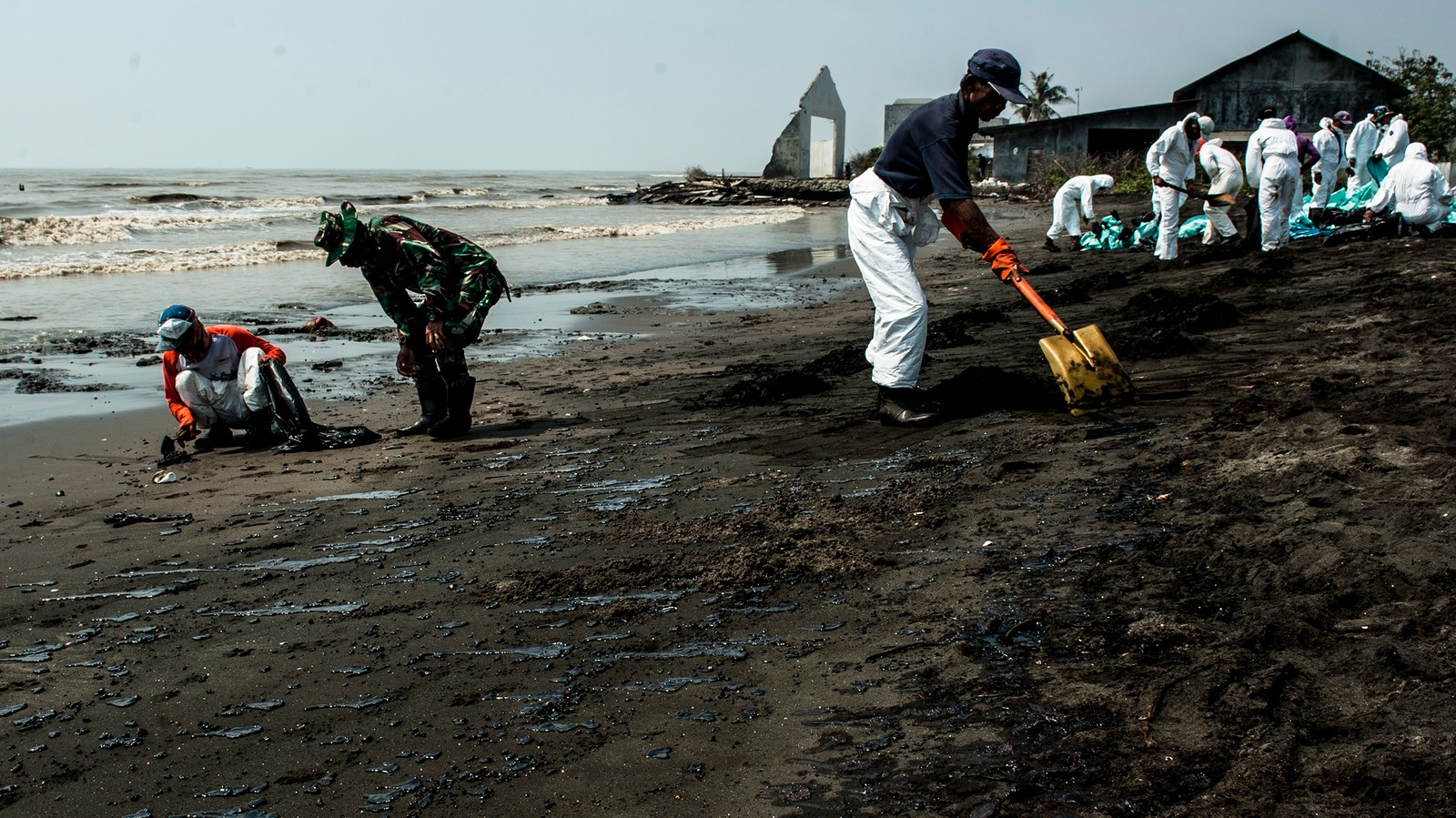 We Visited Indonesia's Giant Community-Destroying Oil Spill