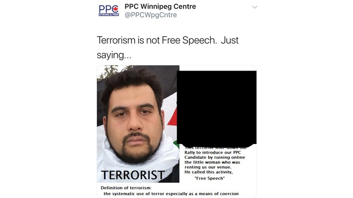 Maxime Bernier's Party Doxxed and Called This Man a Terrorist, so He's Suing
