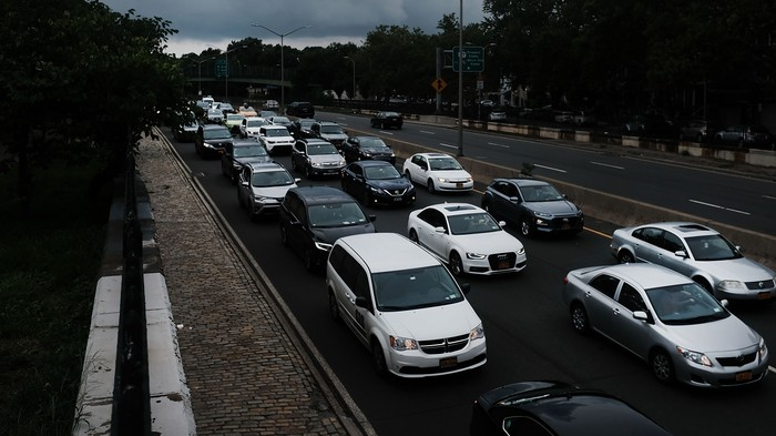 1,000 Protesting Uber Drivers Brought NYC Traffic to a Standstill