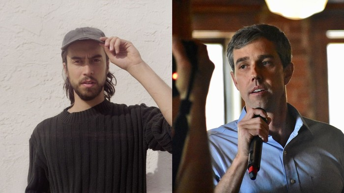 This Photo of (Sandy) Alex G Is Not Beto O'Rourke Peeing Himself