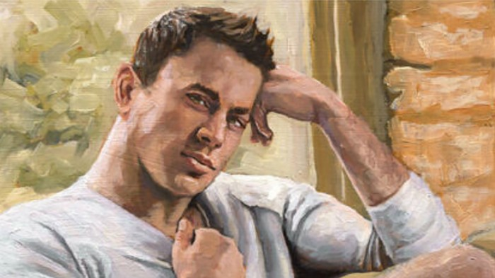 Buy This Original Oil Painting of Channing Tatum's Ballsack for the Low Price of $230