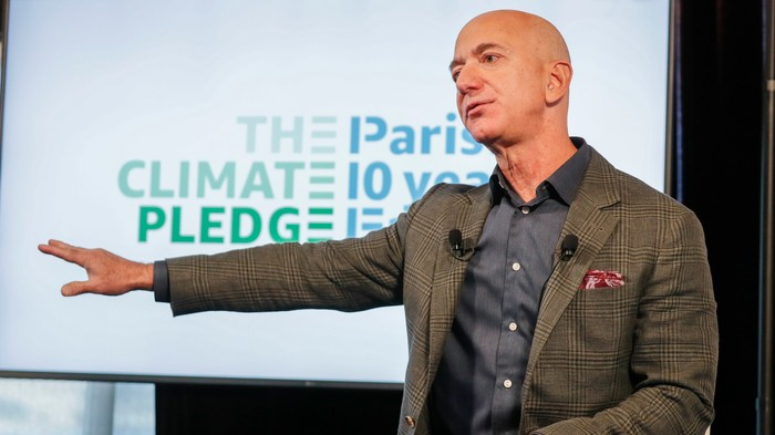 Amazon Strikers Say Bezos' Climate Pledge Is 'Not Enough'