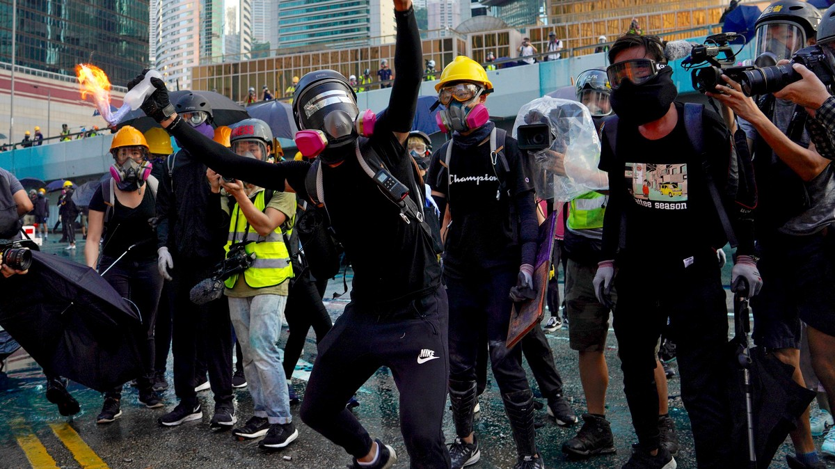 The Brutality of Hong Kong Police Is Putting Pro-Democracy Protesters in the Hospital