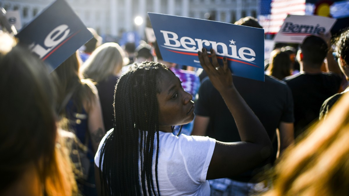 Young Women Actually Make Up More of Bernie's Base Than Men Do