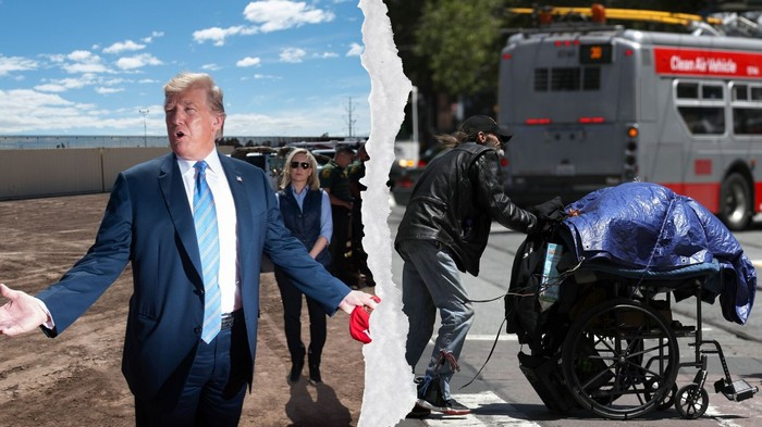 One Thing Trump and Wealthy Liberals Have in Common: They Hate the Homeless