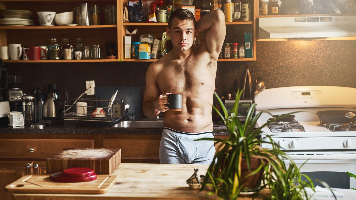 Take That, Starbucks Mermaid: Shirtless Dudes Are Serving Coffee in Seattle Now