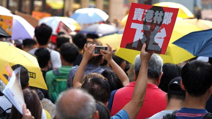 Two 13-Year-Olds Were Just Arrested in the Hong Kong Protests