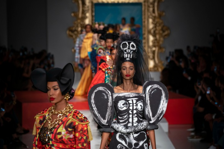 moschino's literal works of art