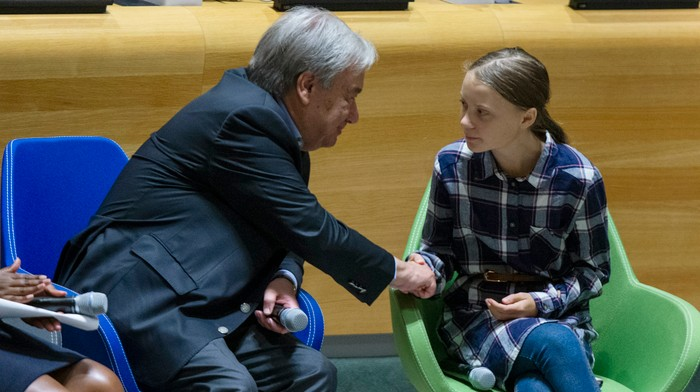 Teen Climate Activists Wanted Real Action. The UN Gave Them iMovie Lessons and a 'Games of Thrones' Actor.