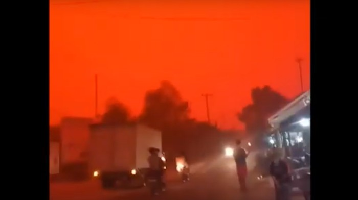 Human-Caused Wildfires Caused the Sky to Change Color in Indonesia