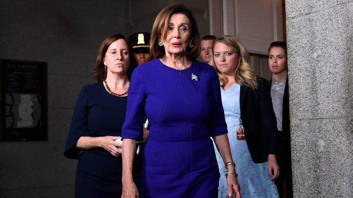 It's Official: Pelosi Says the Impeachment Inquiry Is On