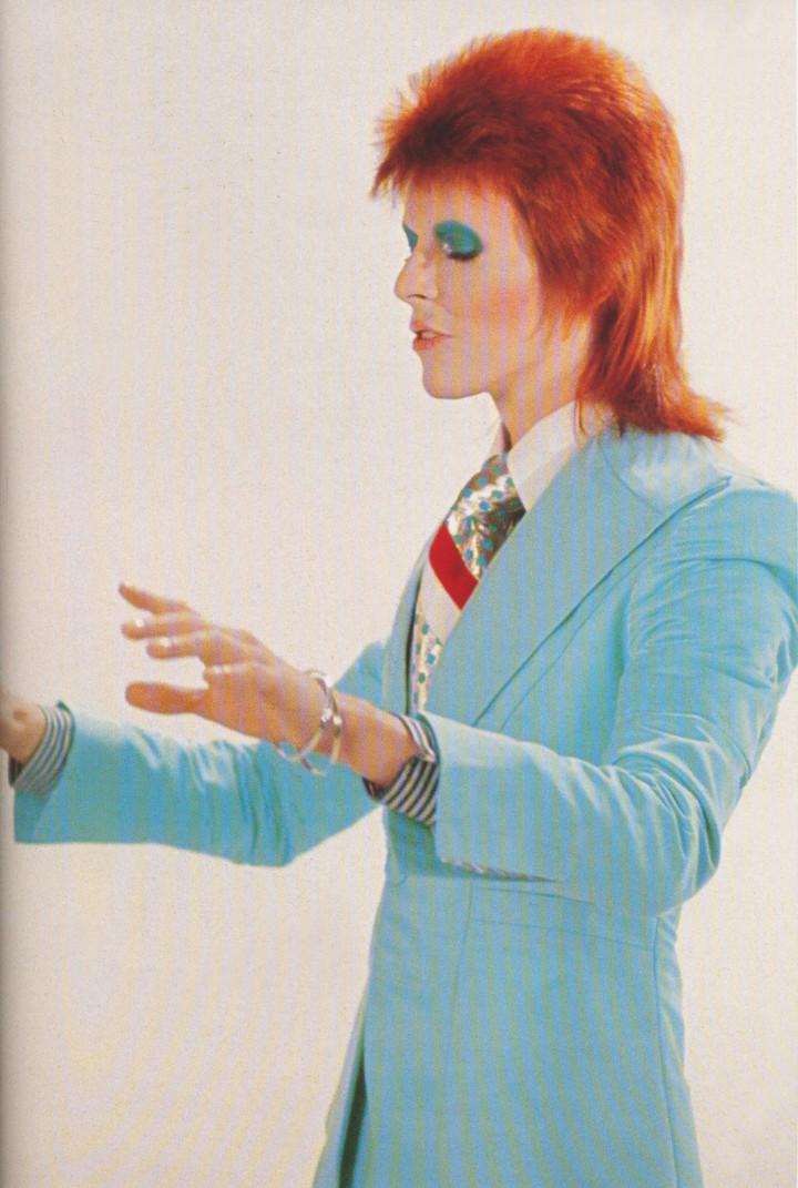 le glam rock a libéré le style de toute une génération