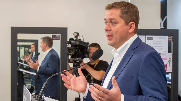 Andrew Scheer Got Busted for a Pointless Resume Lie