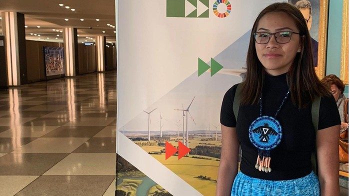 The Indigenous Teen Who Confronted Trudeau About Unsafe Water Took On the UN