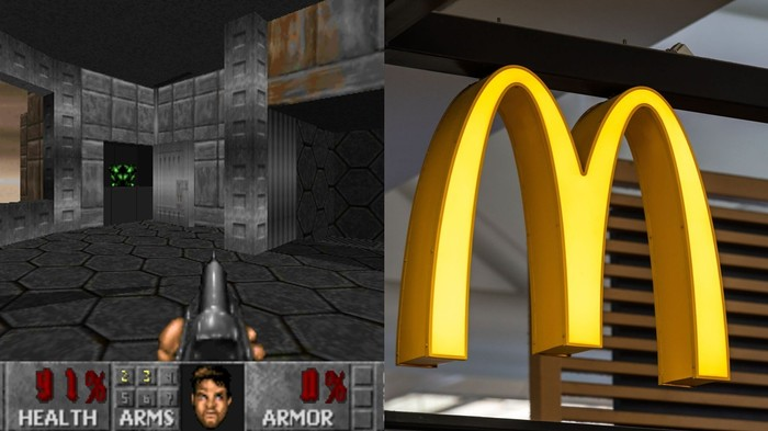 A Teen Rigged a McDonald's Cash Register to Play 'Doom'