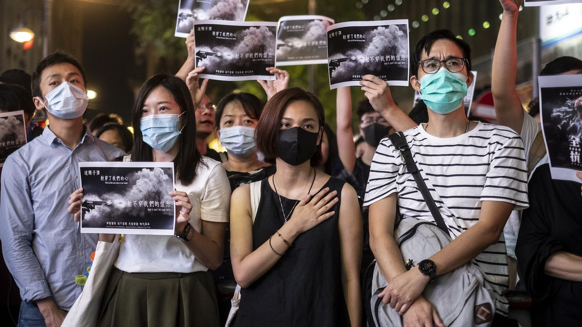 Outrage at two-year prison terms for Hong Kong policemen