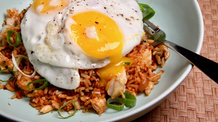 Easy Crab Fried Rice Recipe