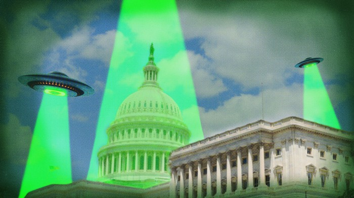 UFO Lobbyists Are Trying to Get the Truth From Congress, and They're Winning