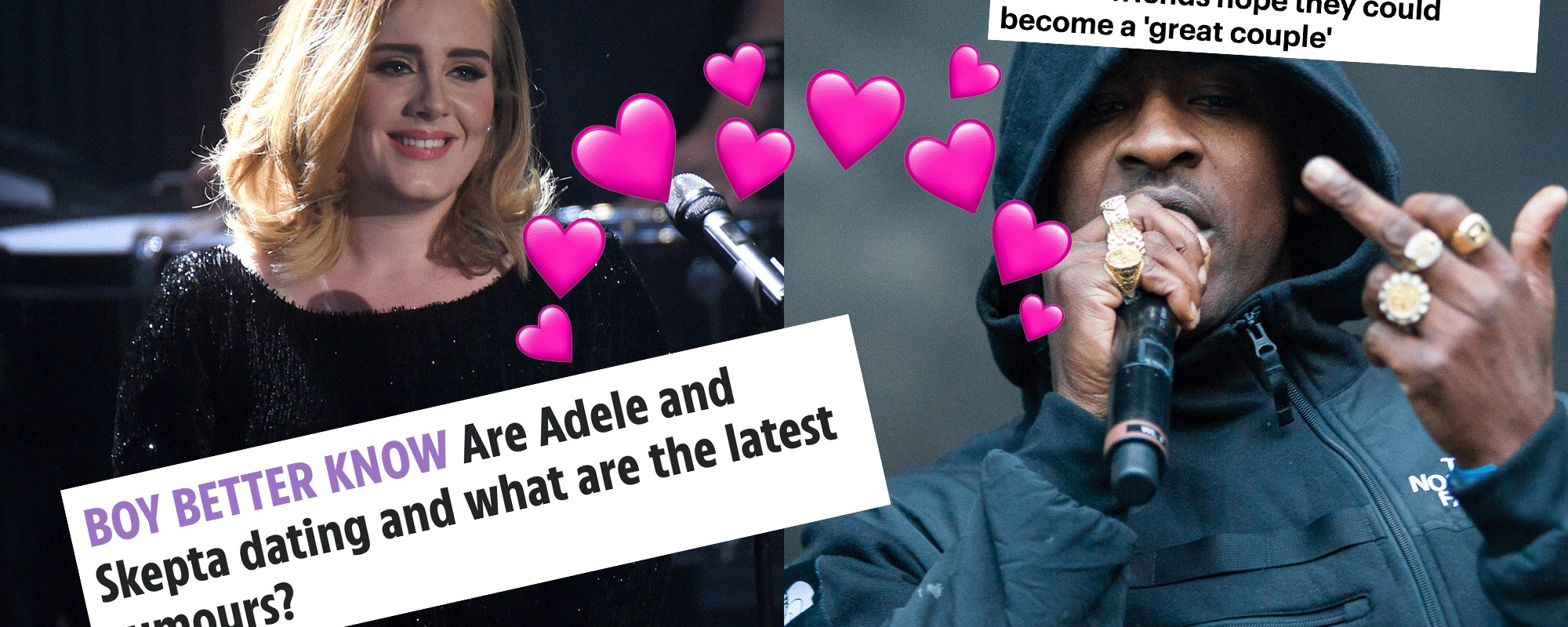 Are Skepta And Adele Really Dating Where Did The Story Come From