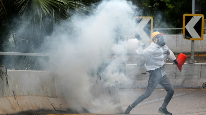 Hong Kong Is Threatening to Roll Out the Chinese Military if Protests Get Worse