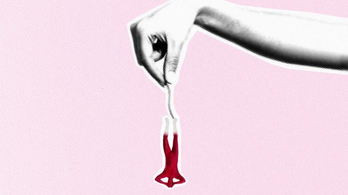Warum es Menstruationsblut auf einen Düsseldorfer Rapper regnen soll