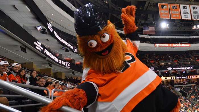 Gritty's Spotify Playlist Is Glorious and Chaotic, Like Gritty