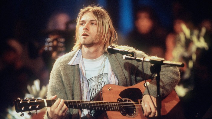 You Can Soon Buy Kurt Cobain's Dirty, Smelly Cardigan From 'MTV Unplugged'