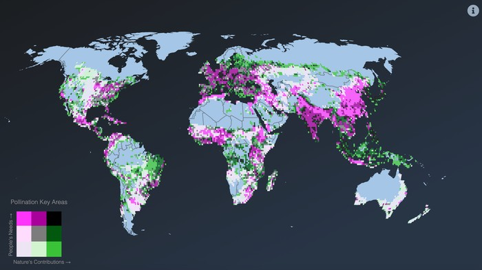 This Global Map Shows You How Nature Benefits You Directly