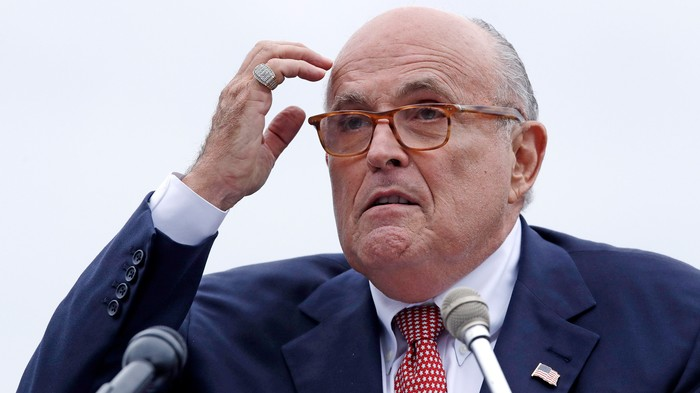 Here's Why Trump Should Be Freaked Out by the Arrest of Rudy Giuliani's Associates
