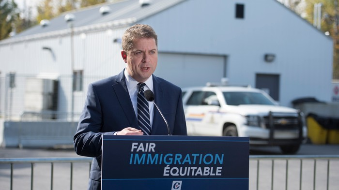 Andrew Scheer Emulates Trump with MS-13 Border Scare Tactic