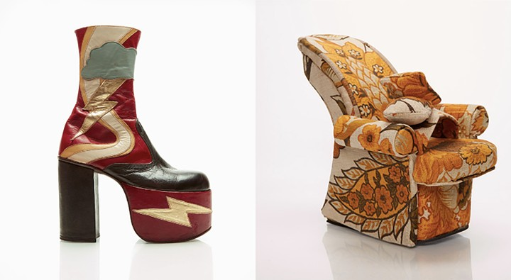 these insane punk-inspired heels are wearable art