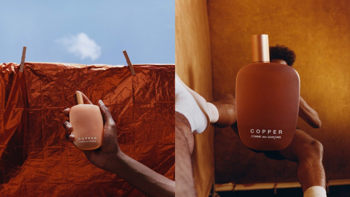 see the intimate new comme des garçons fragrance campaign by tyler mitchell