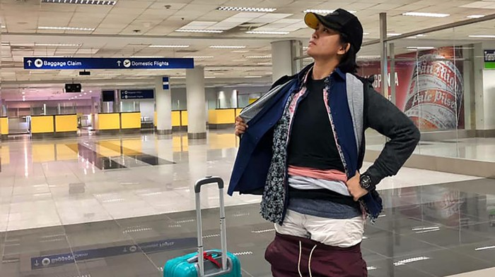 Woman Avoids Paying for Excess Baggage By Wearing All Her Clothes