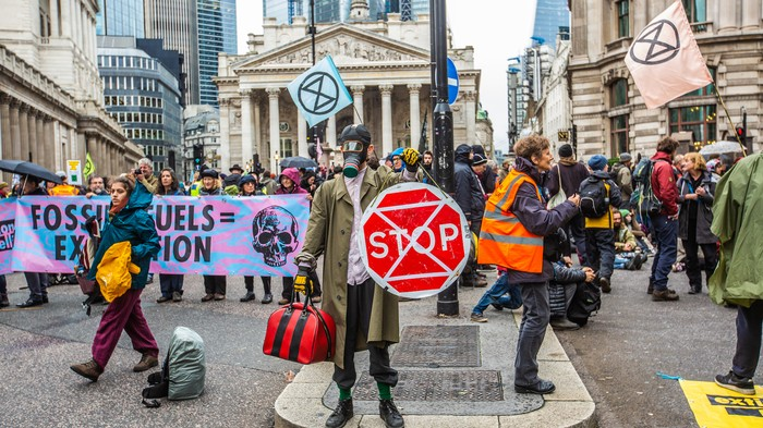 Police Ban Extinction Rebellion from Trying to Save the Planet