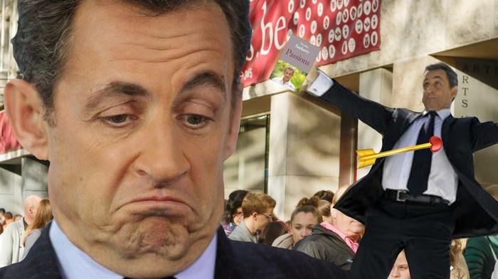 Cinq questions à propos de la séance de dédicace de Sarkozy à Bruxelles