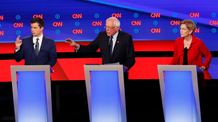 Mayor Pete Is Going to War with Sanders and Warren Over Medicare for All