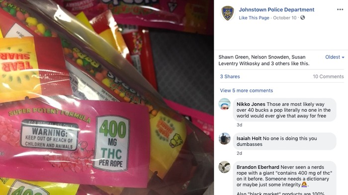 No, Weed Nerds Ropes Aren't Going to Be Given to Kids on Halloween
