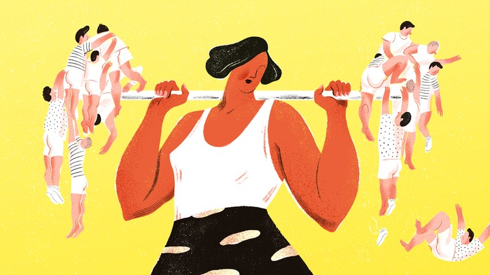 Attention, Stronger People at the Gym: You Have to Help the Newbies