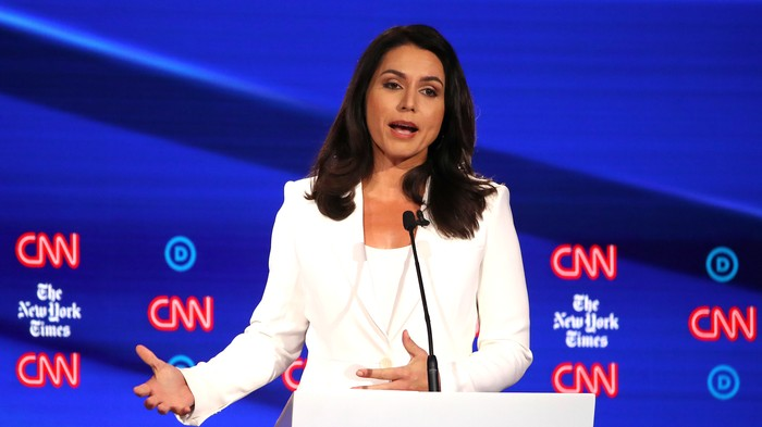 Tulsi Gabbard's Stance on Abortion Is Stuck in the '90s