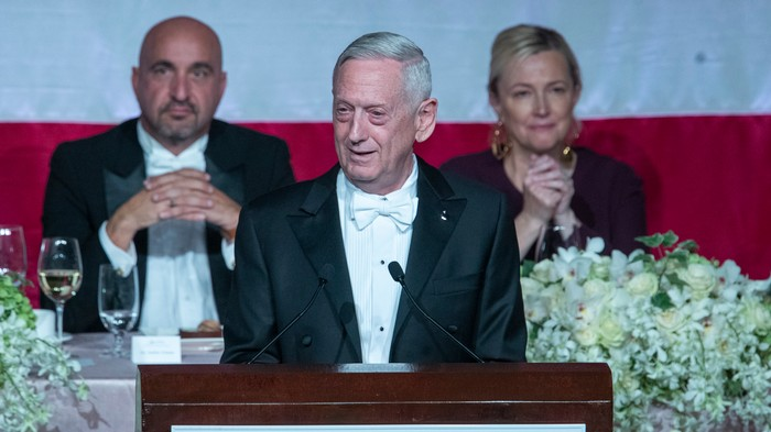 General Mattis Just Burned Trump for Earning His 'Spurs' From a Doctor