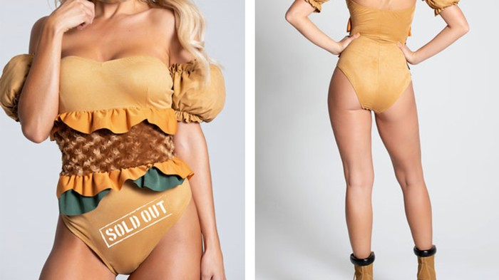 Dress Like a Sexy Chicken Sandwich for Halloween So at Least Someone Can Eat One