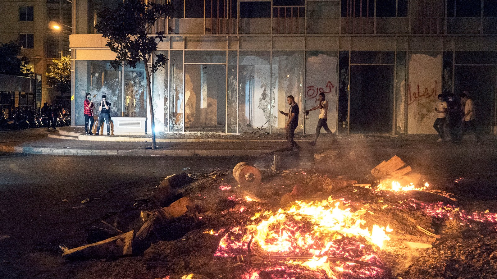 Le Liban en révolte