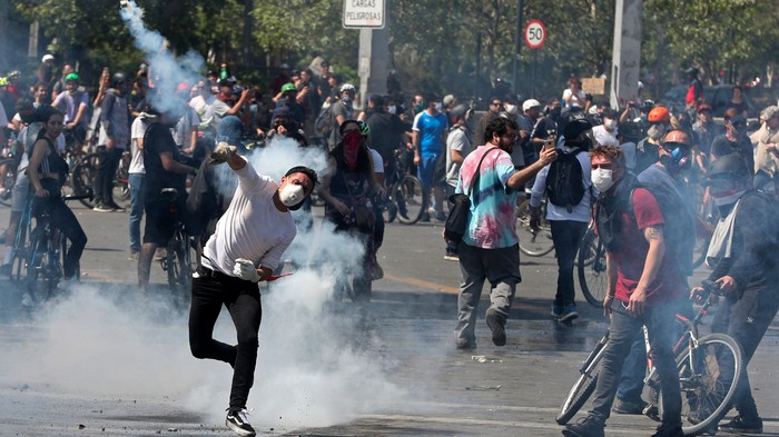 Burned Bodies and Chaos on the Streets: Here's What's Happening with the Riots in Chile