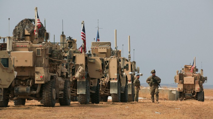 These Kurds Threw Potatoes at the U.S. Troops Abandoning Them in Syria