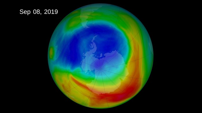 The Ozone Hole Is the Smallest It's Been Since 1982
