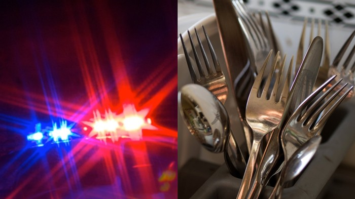 A Man Dressed as a Cop and Pulled Over a Motorist Just to Steal Some Cutlery