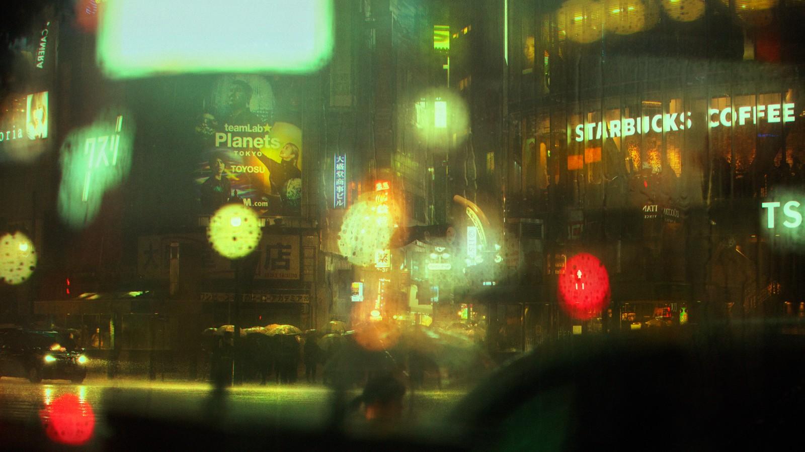 Dans le Tokyo cyberpunk de Liam Wong