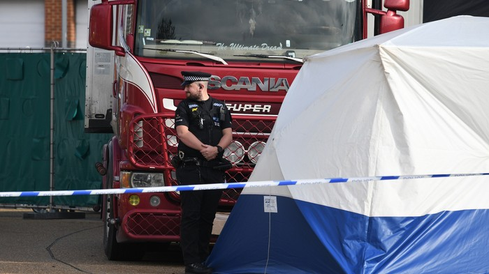 Everything We Know About the 39 Dead Bodies Found in a Truck Outside London