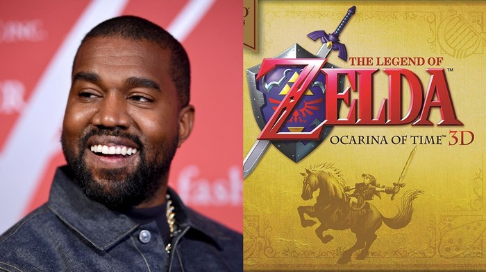 A New Kanye Song Sounds Like the Zelda Soundtrack and We're Not Mad Actually